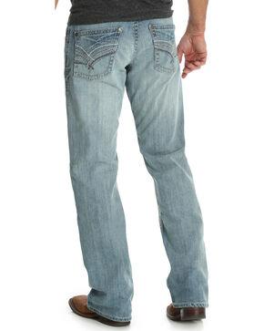Wrangler Rock 47 Men's Relaxed Fit Boot Cut Jeans  , Blue, hi-res