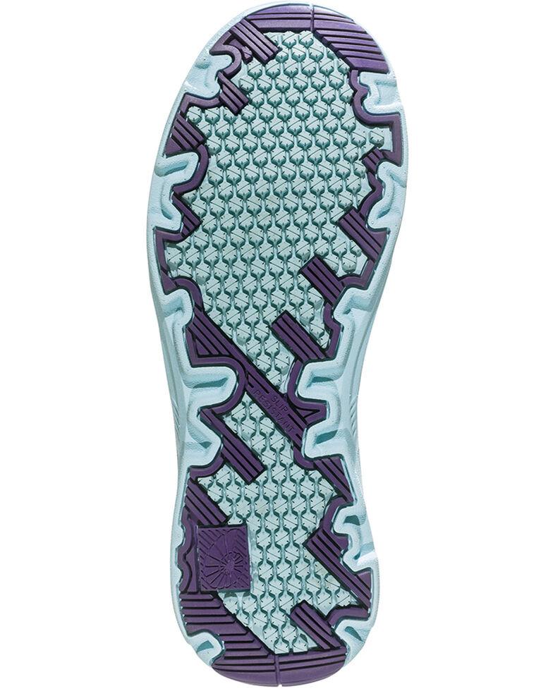Nautilus Women's Purple Wedge Sole Work Shoes - Composite Toe , Blue, hi-res