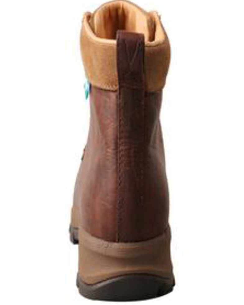 """Twisted X Women's 6"""" Comp Toe Hiking Boots, Dark Brown, hi-res"""