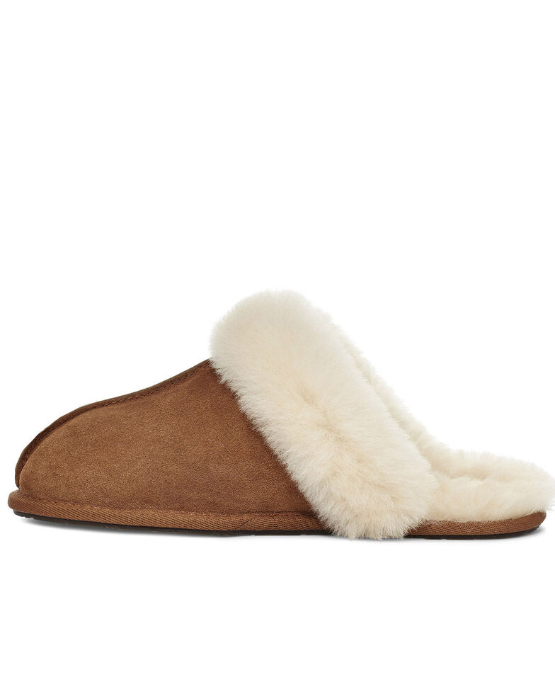 UGG Women's Scuffette II Slippers, Chestnut, hi-res