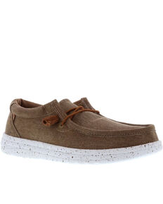 Lamo Footwear Men's Paul Lamolite Shoes - Moc Toe, Beige/khaki, hi-res