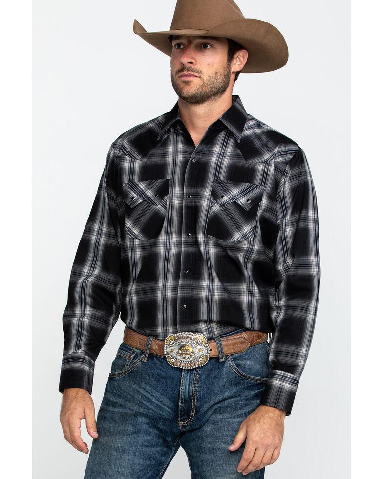 Ely Cattleman Men's Assorted Multi Large Plaid Long Sleeve Western Shirt - Big , Multi, hi-res