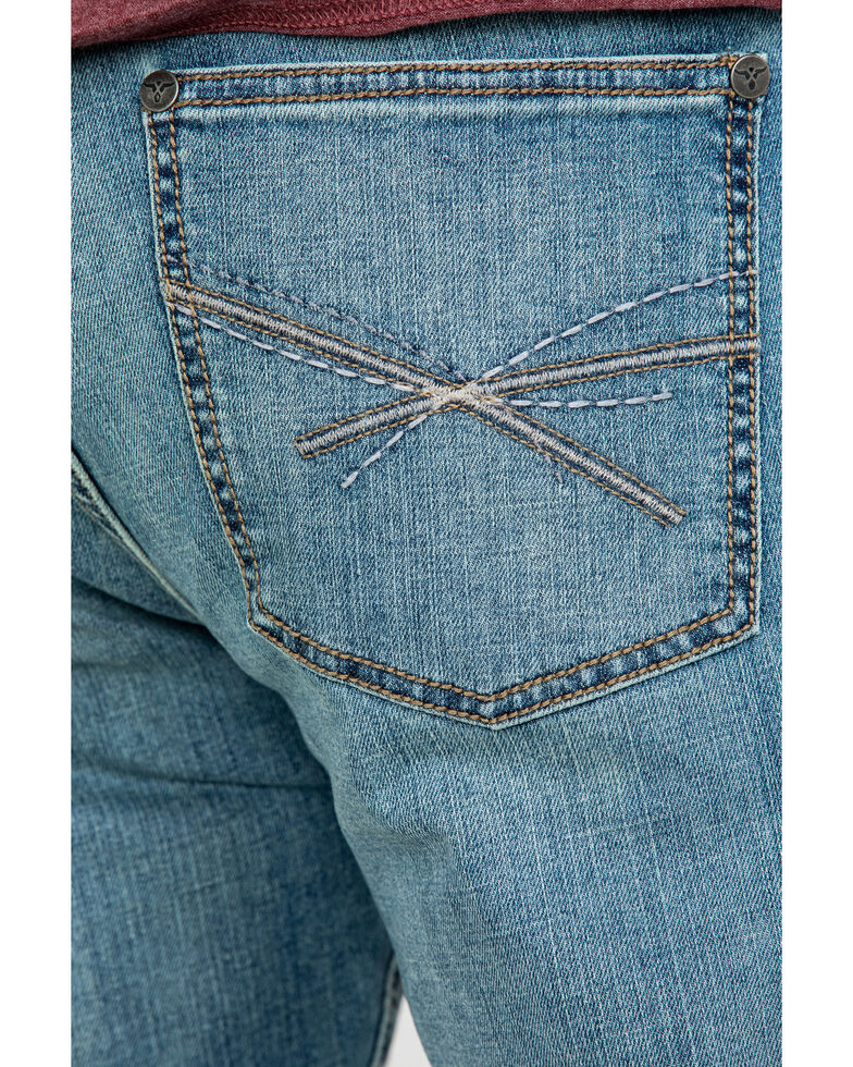 Wrangler 20X Men's No. 42 Sawyer Stretch Vintage Boot Jeans, Blue, hi-res
