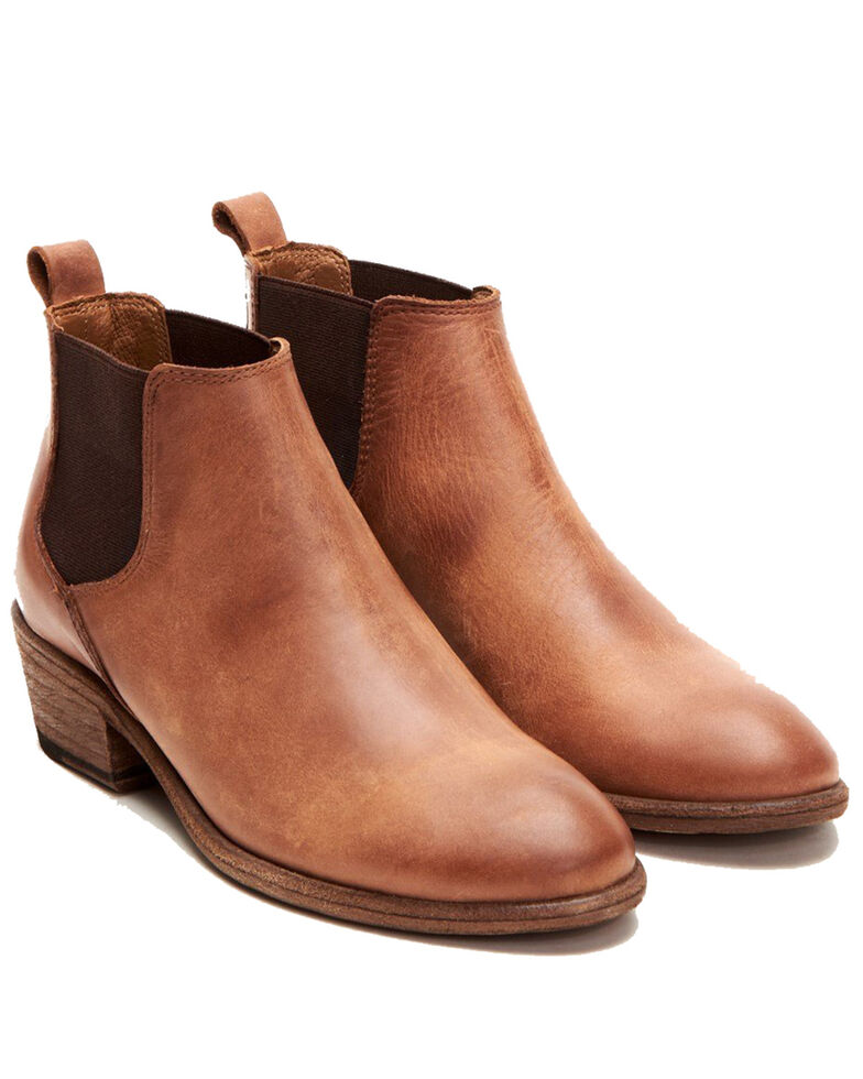 Frye Women's Carson Chelsea Boots - Round Toe, Brown, hi-res