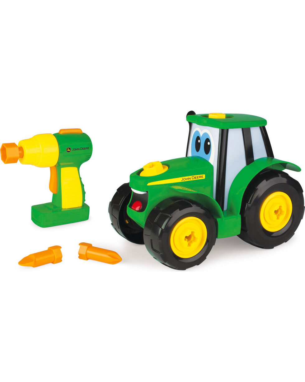 John Deere Build-A-Johnny Tractor, No Color, hi-res