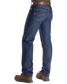 """Levi's Jeans 501® Original Shrink-to-Fit® - Big. Up to 44"""" waist, Indigo, hi-res"""