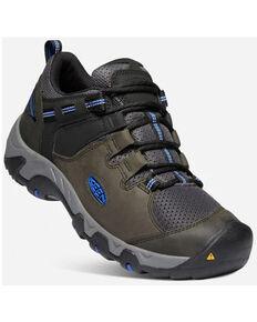 Keen Men's Magnet & Sky Diver Steens Vent Lace-Up Waterproof Hiking Shoe , Black, hi-res