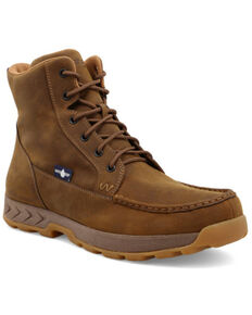 Wrangler Footwear Men's TWX Hiker Boots - Soft Toe, Brown, hi-res