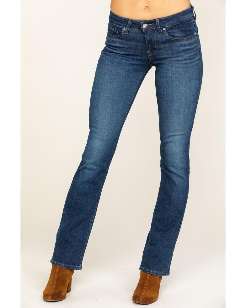 Levi's Women's 715 I Gotta Feeling Bootcut Jeans, Blue, hi-res