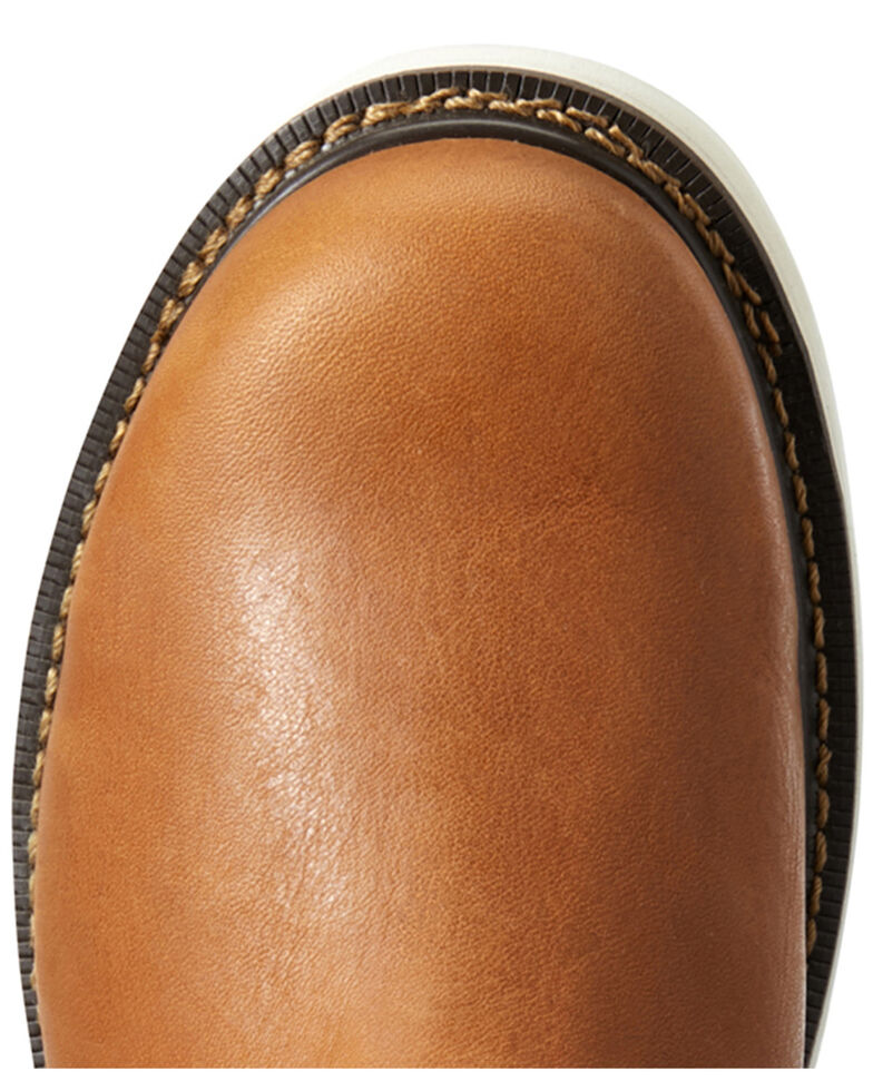 Ariat Men's Golden Grizzly Work Boots - Soft Toe, Brown, hi-res