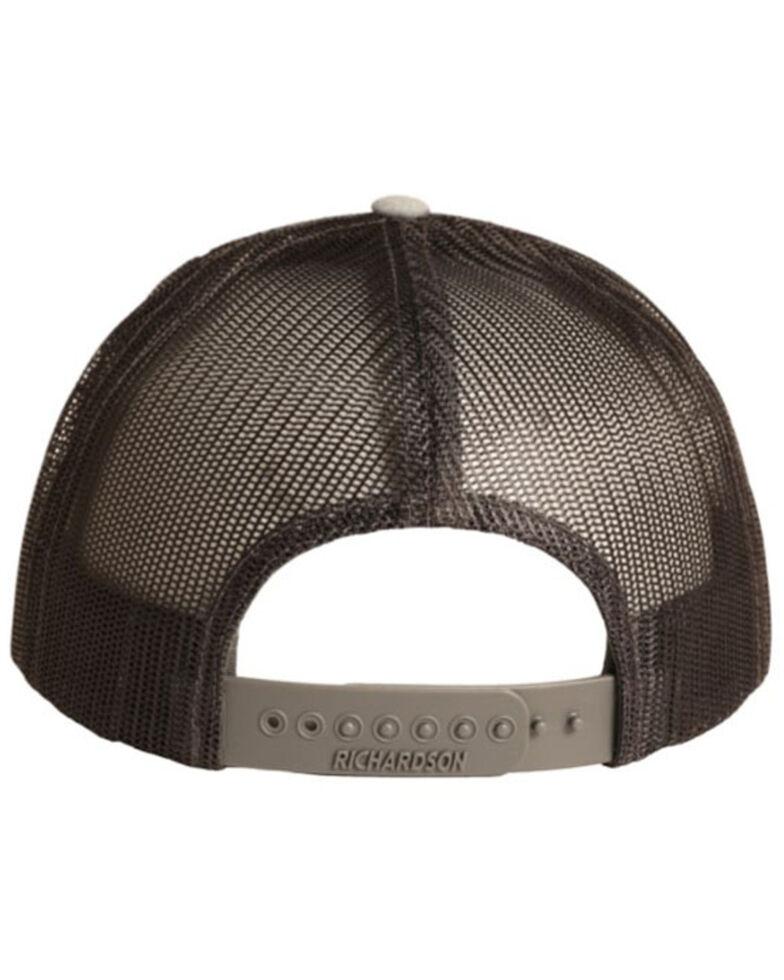 Rock & Roll Denim Men's Authentic Rock & Roll Patch Mesh-Back Ball Cap , Charcoal, hi-res