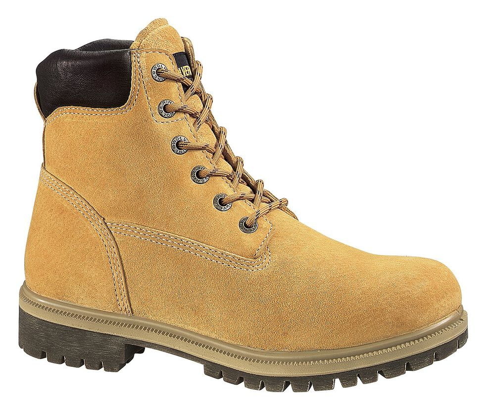 """Wolverine 6"""" Waterproof Insulated Work Boots, Gold, hi-res"""