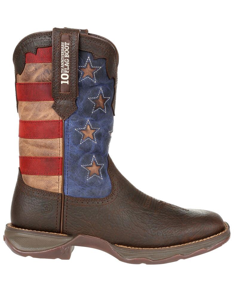 Durango Women's Red, White, & Blue Western Boots - Square Toe, Multi, hi-res