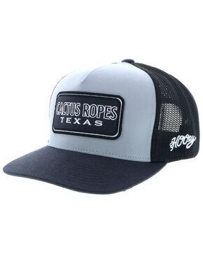 HOOey Grey Cactus Ropes Ball Cap , Grey, hi-res