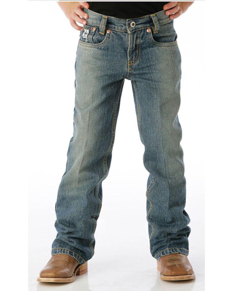 Cinch Boys' Low Rise Slim Fit Jeans - 4-7, Denim, hi-res