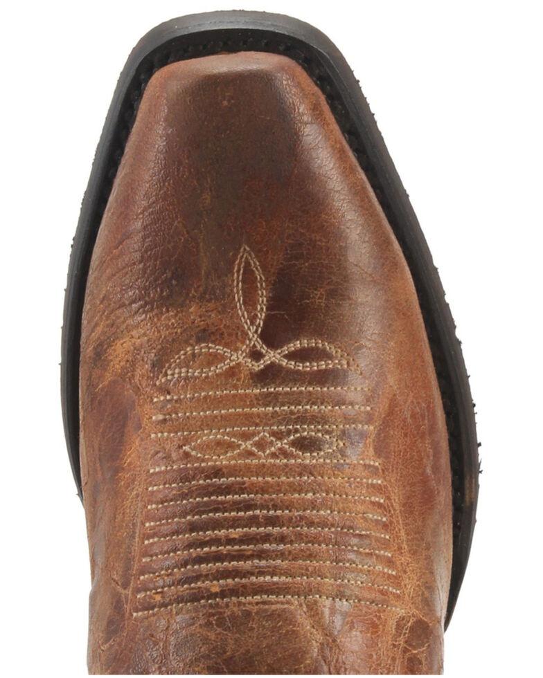 Dan Post Men's Barrett Western Boots - Wide Square Toe, Tan, hi-res