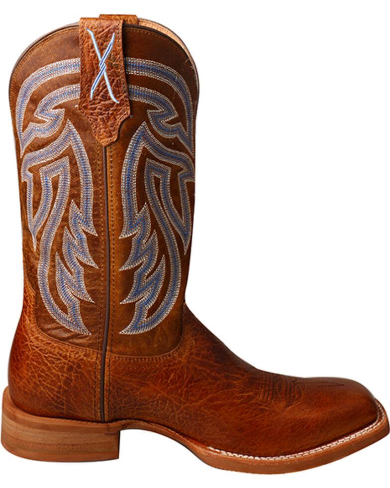 Twisted X Men's Rancher Cowboy Boots - Square Toe, Brown, hi-res