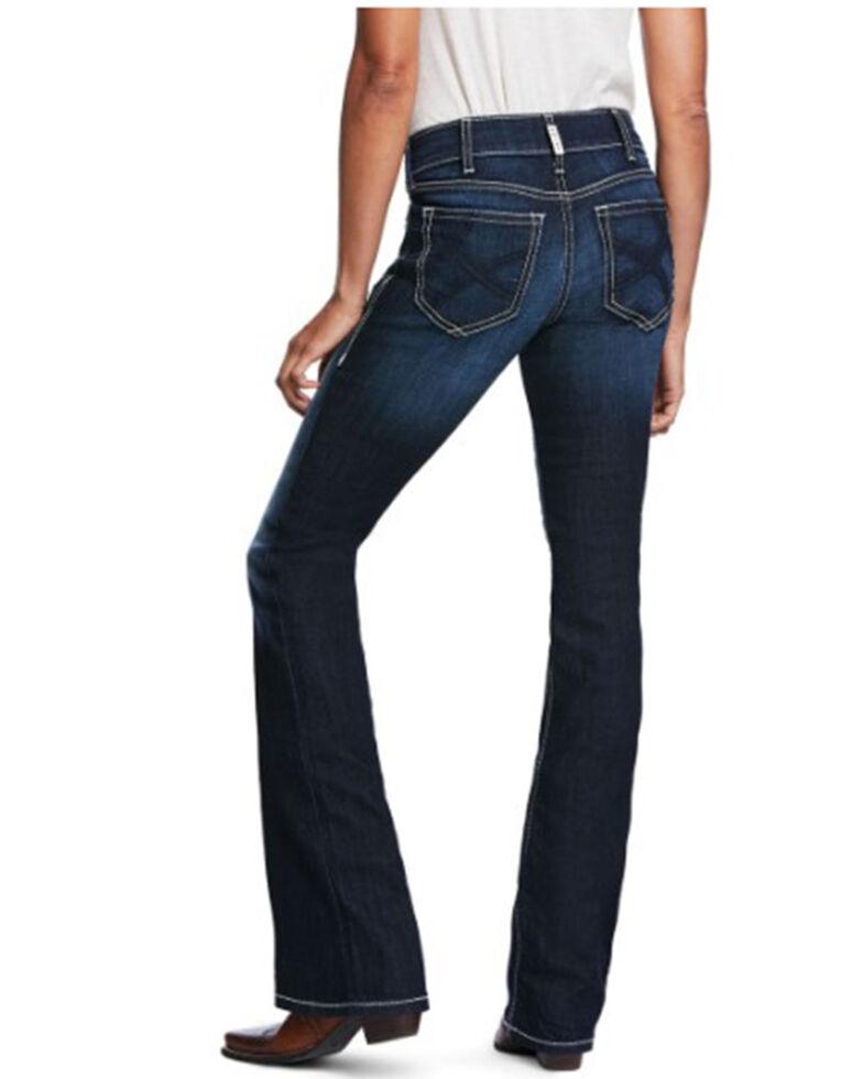 Ariat Women's Ella Supernova Bootcut Jeans, Blue, hi-res