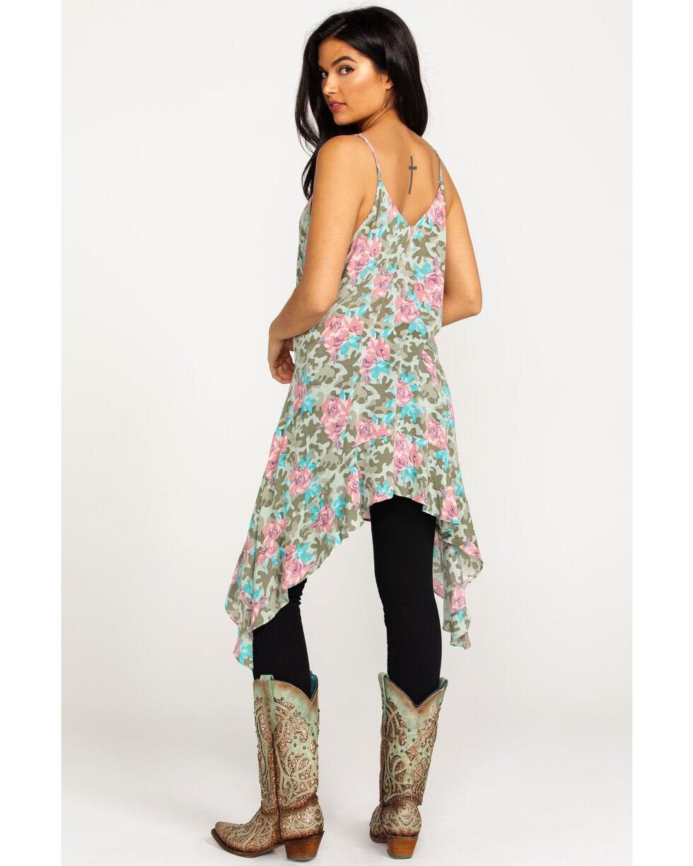 Ariat Women's Petal Floral Camo Print Tank , Multi, hi-res