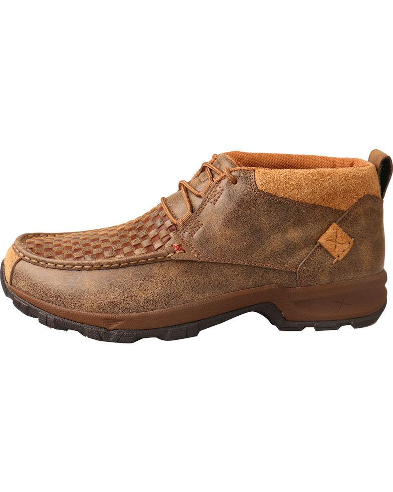 Twisted X Men's Woven Hiker Shoes - Moc Toe, Brown, hi-res