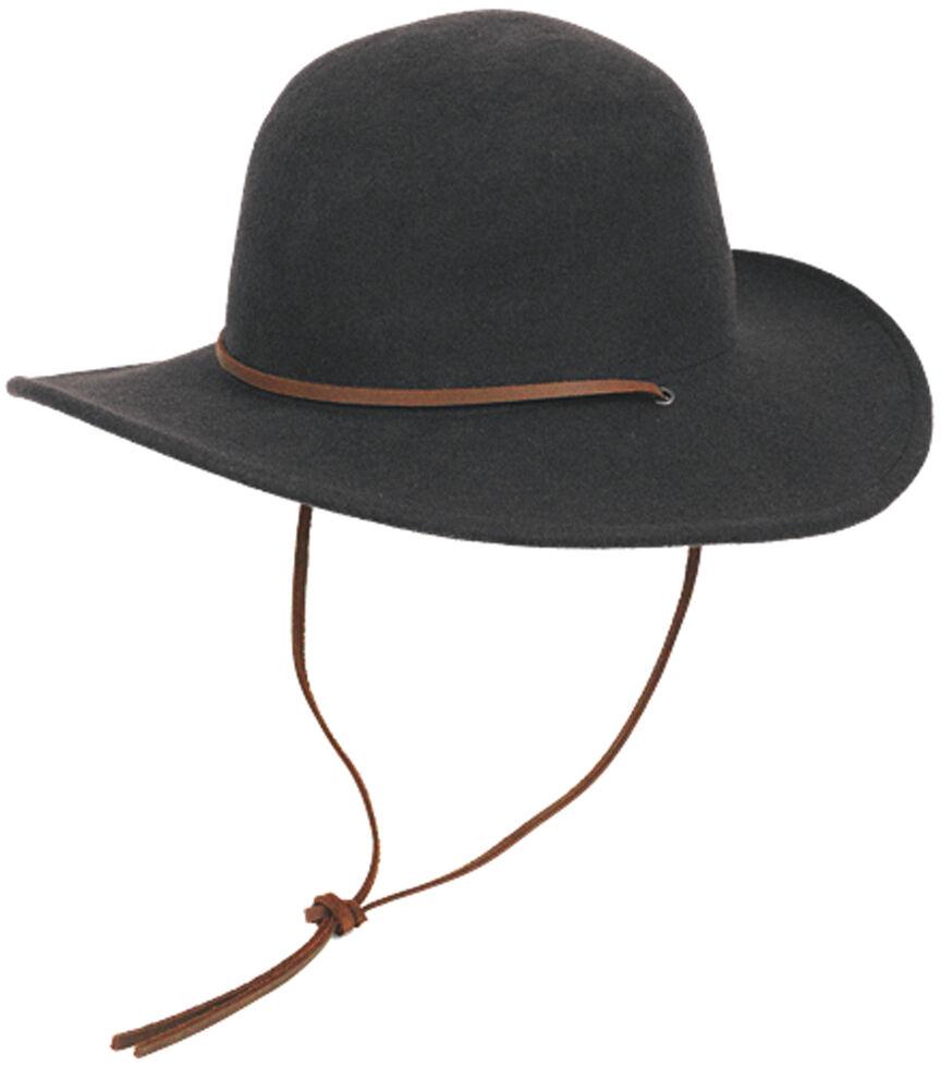 Peter Grimm Women's Miranda Black Wool Hat, Black, hi-res
