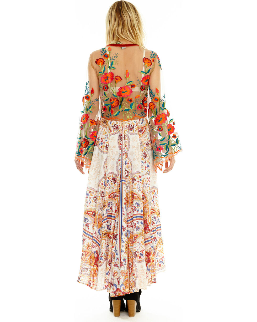 Aratta Women's Cream Surreal Dreamer Dress , , hi-res