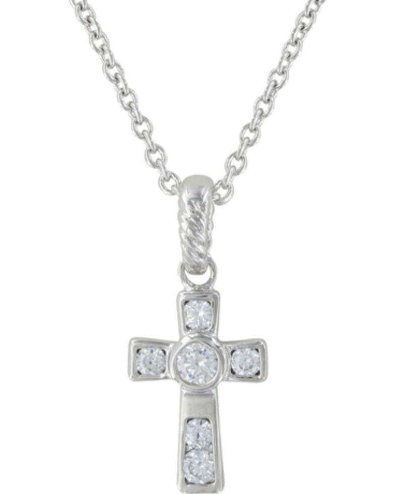 Montana Silversmiths A Mark of Faith Necklace, Silver, hi-res