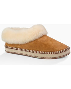 UGG Women's Chestnut Wrin Slippers, Chestnut, hi-res