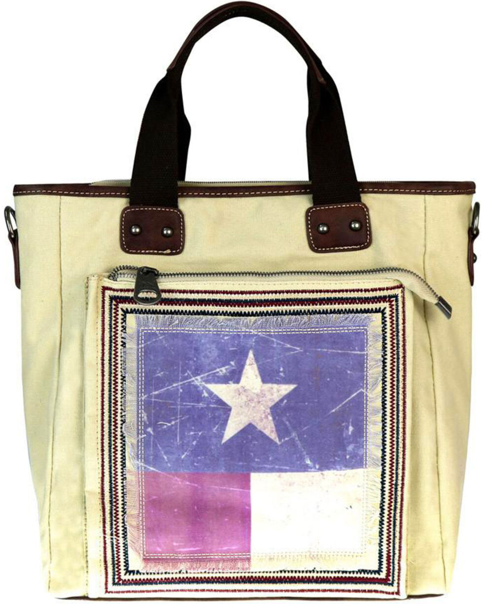 Montana West Women's Vintage Texas Pride Conceal Carry Tote , , hi-res