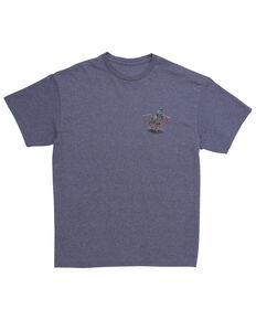 Wrangler Men's Team Roping Graphic T-Shirt , Blue, hi-res