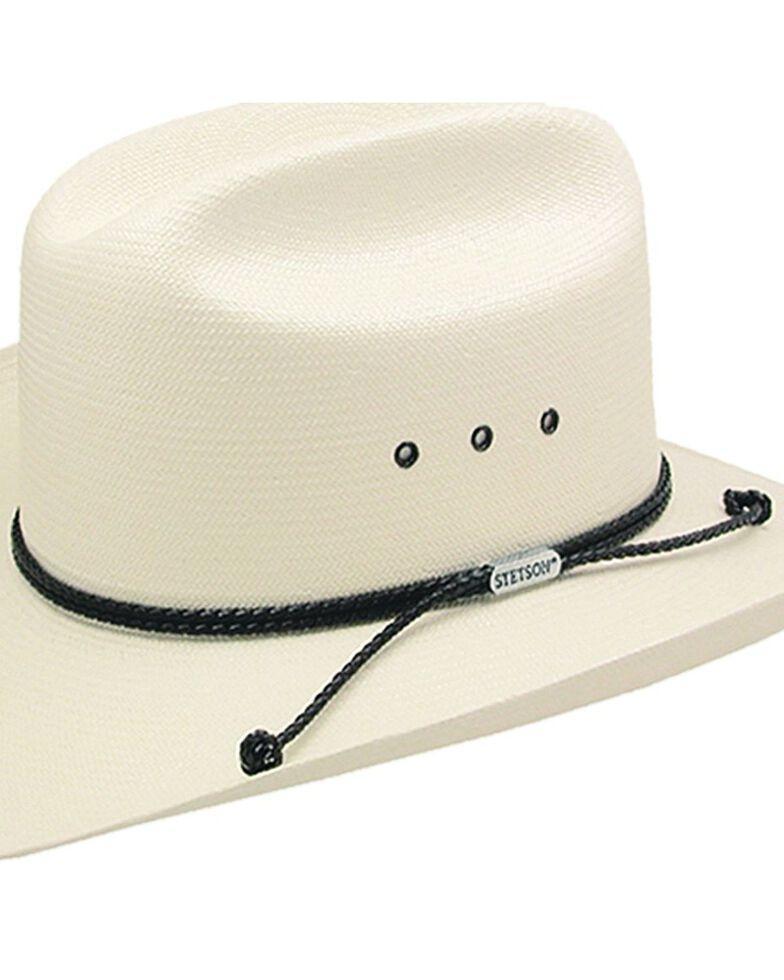 Stetson Men's Carson 10X Shantung Straw Cowboy Hat, Natural, hi-res