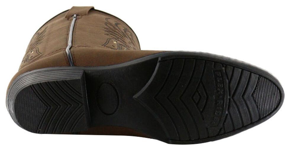 Cody James Youth Boys' Phoenix Western Boots - Medium Toe, Brown, hi-res