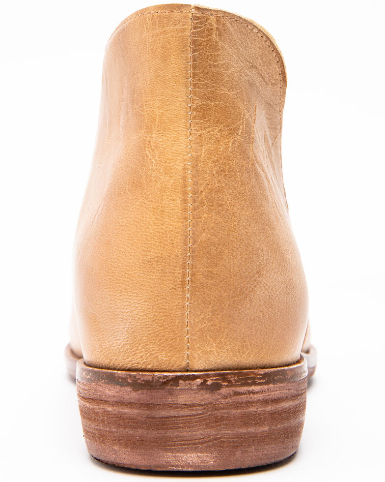 Free People Women's Taupe Flat Royale Booties, Brown, hi-res