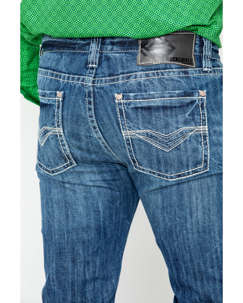 Rock & Roll Cowboy Men's Revolver Jeans, Blue, hi-res