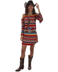6eb0dba44091 Honey Creek by Scully Women s Serape Off Shoulder Long Sleeve Dress