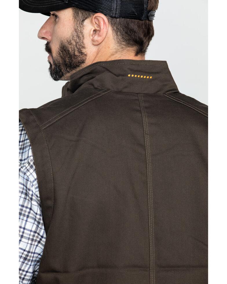 Ariat Men's Wren Rebar Duracanvas Work Vest , Loden, hi-res