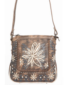 00aed41a8b Shyanne Women s Floral Embroidered Crossbody Handbag.  59.99. Montana West  ...