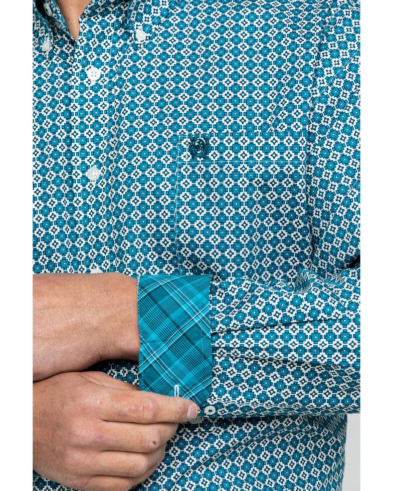 Cinch Men's Multi Geo Print Button Long Sleeve Western Shirt , Multi, hi-res