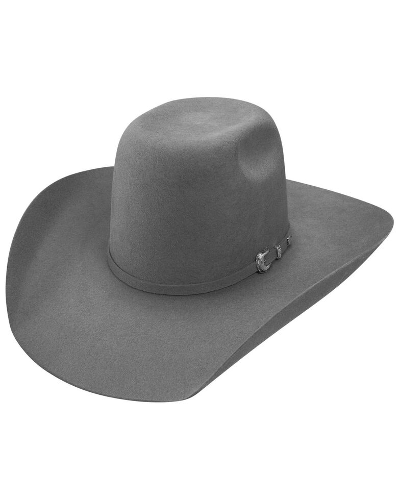 Resistol Grey Pay Window Jr. Western Hat, Grey, hi-res