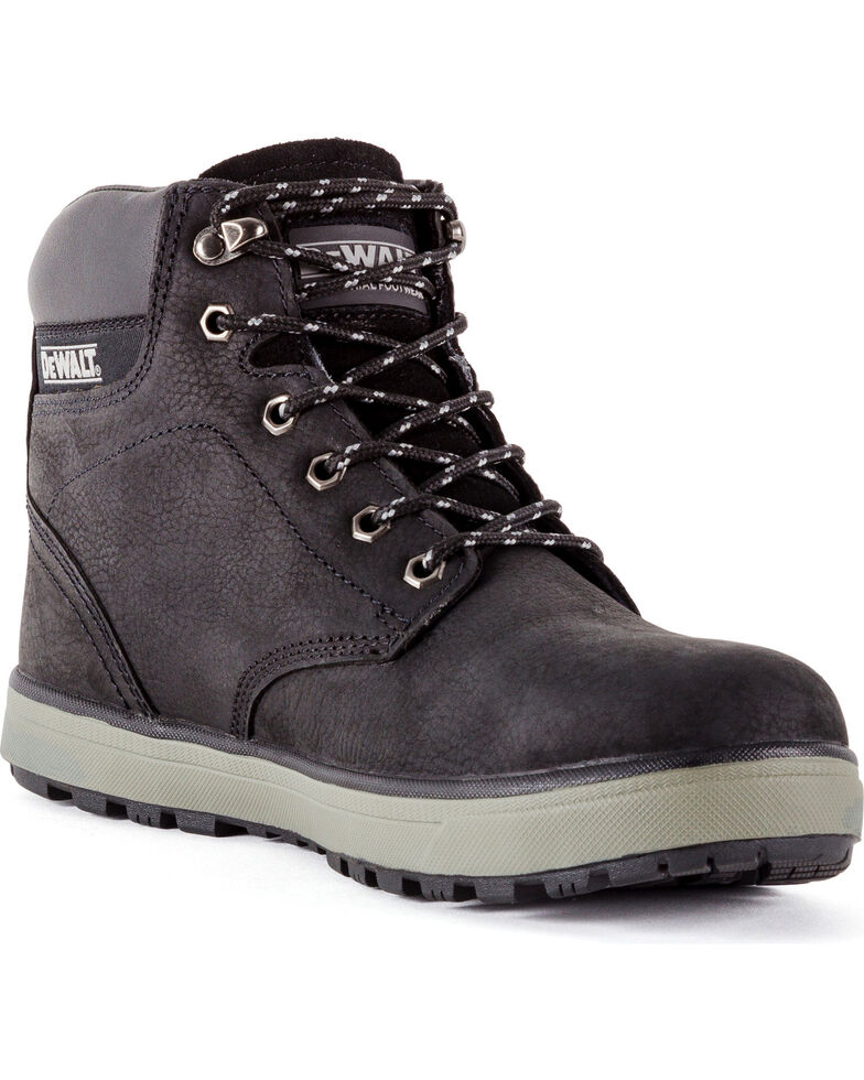 DeWalt Men's Plazma Hybrid Work Boots - Steel Toe, Black, hi-res