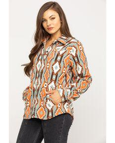 Outback Trading Co. Women's Tabitha Long Sleeve Western Shirt - Reg. & Plus, Multi, hi-res