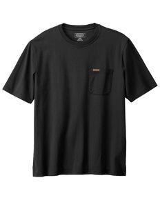 Pendleton Men's Black Deschutes Pocket Short Sleeve T-Shirt , Black, hi-res