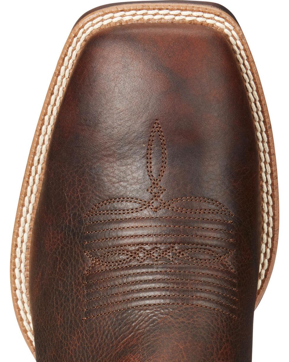 Ariat Men's VentTEK Ultra Quickdraw Cowboy Boots - Square Toe, Lt Brown, hi-res