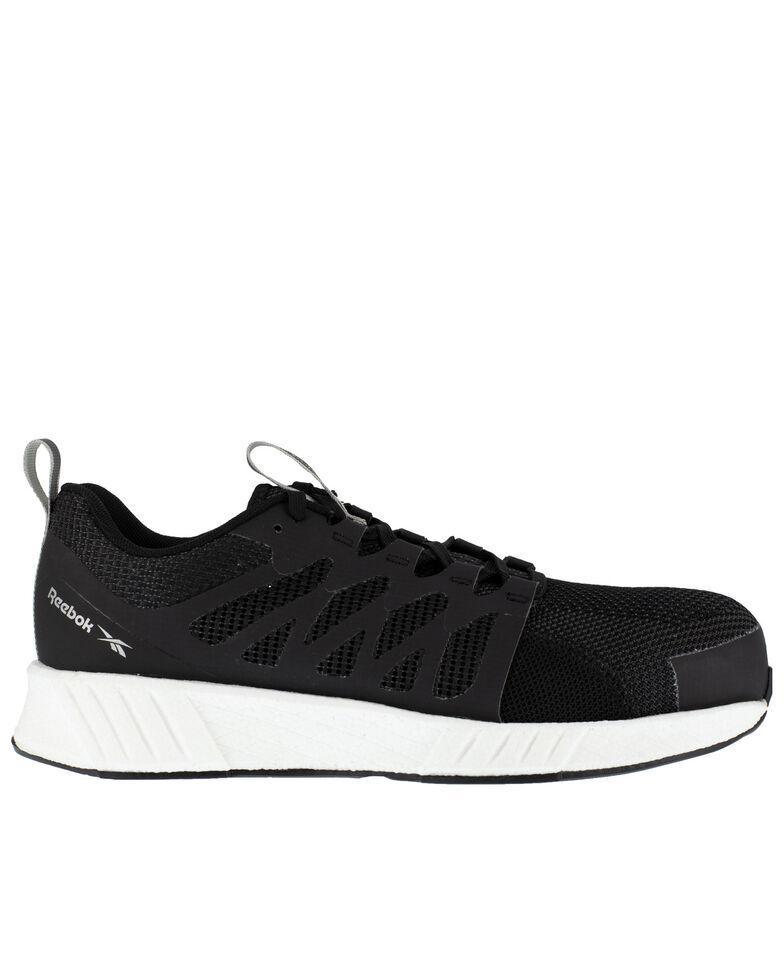 Reebok Men's Flexweave Work Shoes - Composite Toe, Black, hi-res