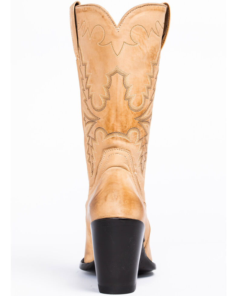 Idyllwind Women's Stride Western Boots - Round Toe, Ivory, hi-res