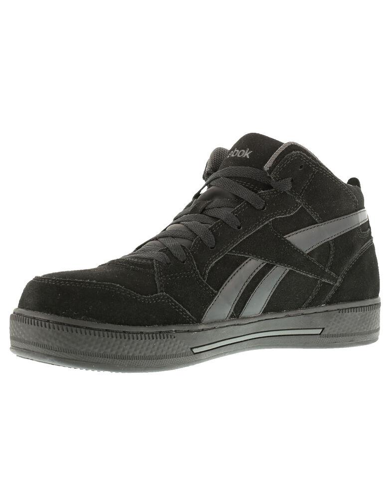 Reebok Men's Dayod Skate Work Shoes - Composite Toe, Black, hi-res