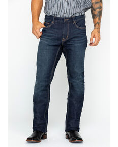 Moonshine Spirit Men's Straight Leg Jeans, Indigo, hi-res