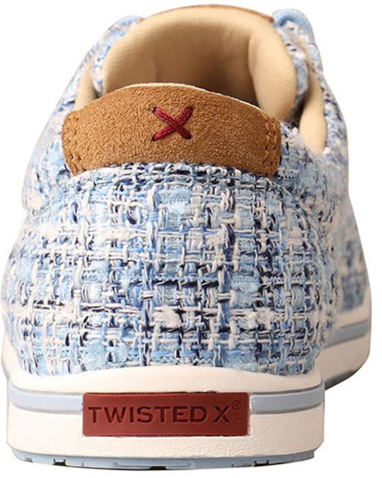 Twisted X Women's Kicks Casual Shoes - Moc Toe, Blue, hi-res