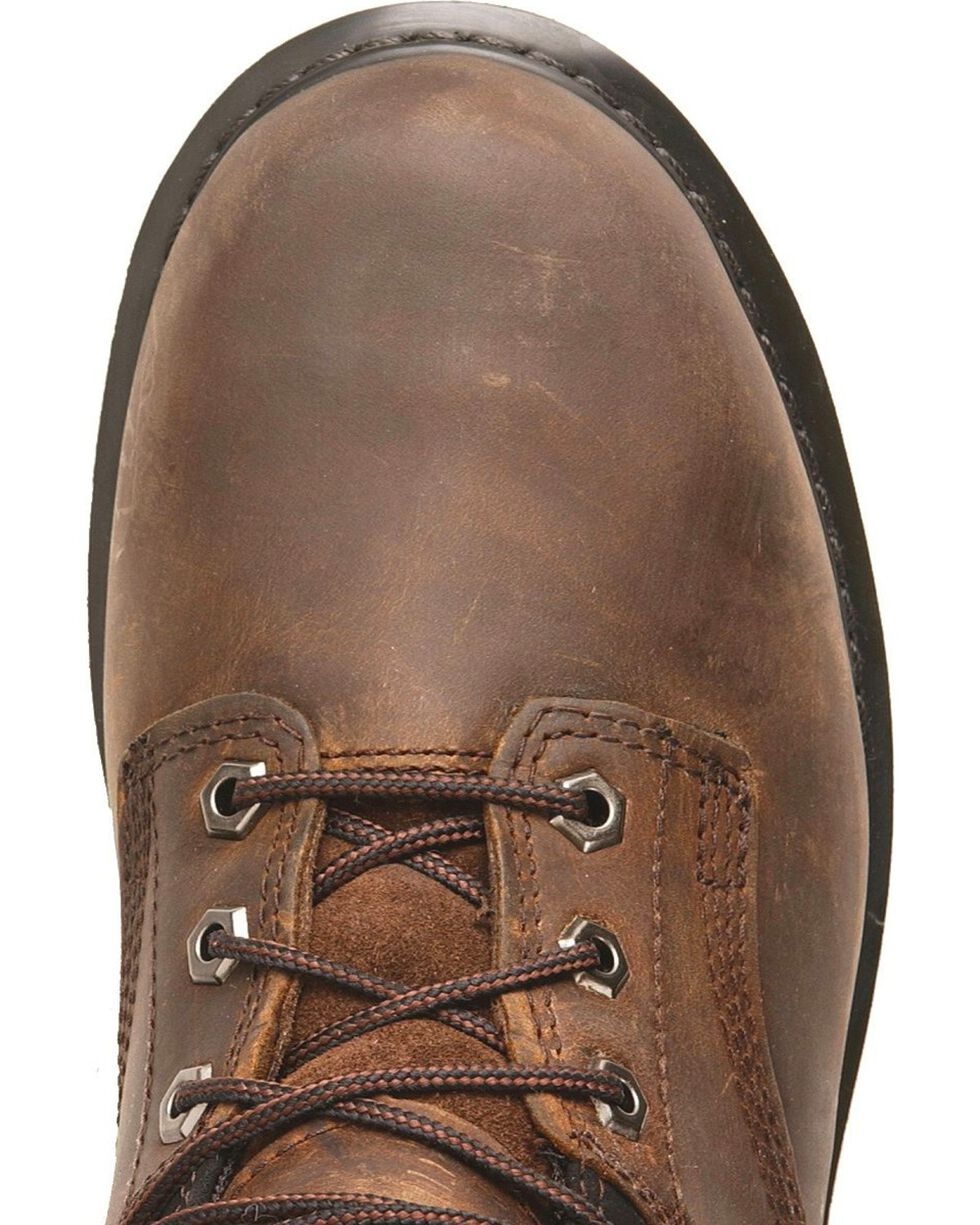 "Timberland Pro Pit Boss 6"" Lace-Up Work Boots, Brown, hi-res"