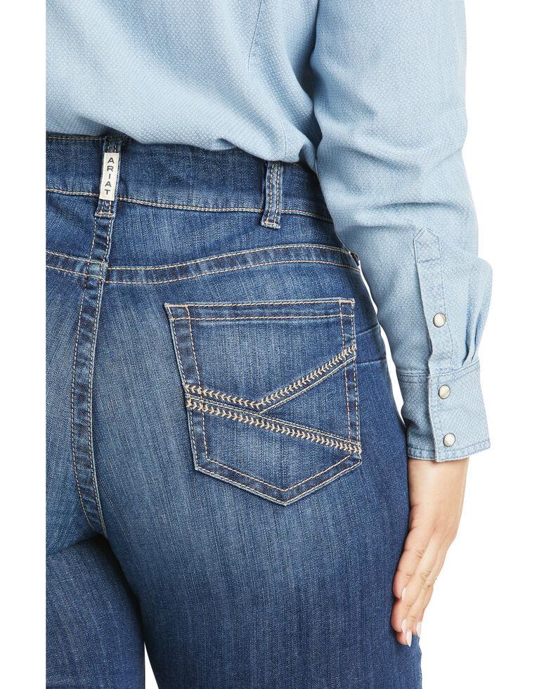 Ariat Women's Liliana Bootcut Jeans - Plus, Blue, hi-res